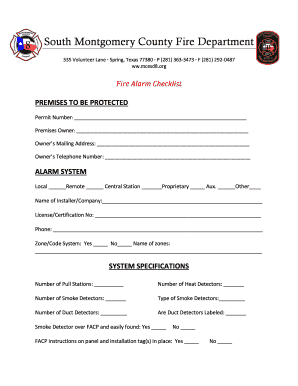 Fillable Online Montgomery Co Fire Marshal Online Order