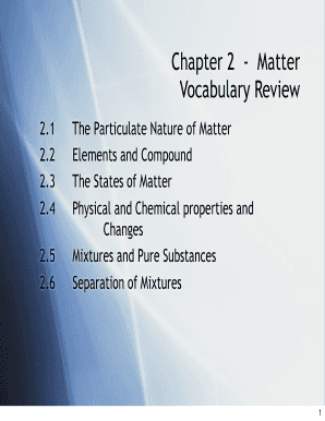 PowerPoint Presentation - Matter: anything that ... - Blue Devil Chem
