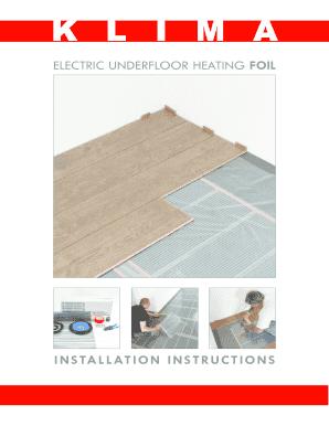 Fillable online klima co klima foil installation manual klima co fill online asfbconference2016 Images