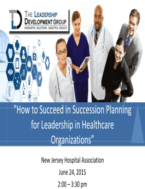 """How to Succeed in Succession Planning"