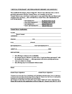 14 Printable Rv Purchase Agreement Pdf Forms And Templates