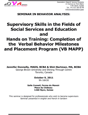 photo regarding Vb Mapp Printable Materials referred to as Supervisory Competencies within the Fields of Social Expert services and Fill