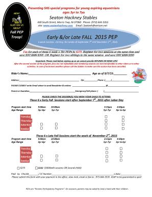 Fillable online class start datetime alpha k9 u llc fax email presenting shs special programs for young aspiring equestrians publicscrutiny Images