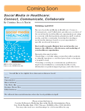 Social Media in Healthcare Connect Communicate Collaborate