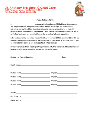 Fillable Free Photo Copyright Release Form Samples To Complete