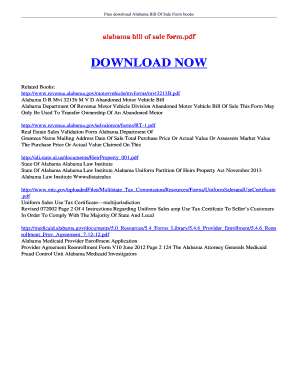 motor vehicle bill of sale pdf