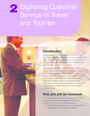 2 Exploring Customer Service In Travel And Tourism - Student Books - willenbooks co