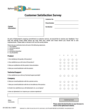 Customer Satisfaction Survey Questions - Qualtrics