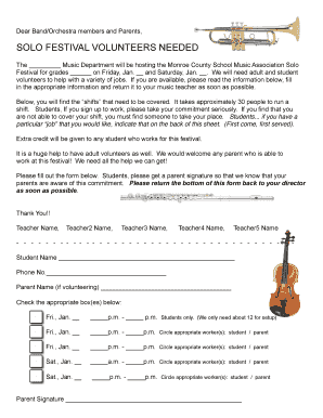 Fillable online mcsma sample volunteer recruitment letterpermission fill online thecheapjerseys Gallery