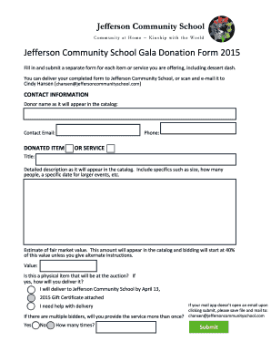 Community Service Form Template Pdf