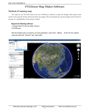 FYGSreen Map Maker Software Fill Online, Printable, Fillable, Blank