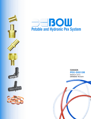 Potable and Hydronic Pex System - bow-groupcom  sc 1 st  monthlyserviceinvoicetemplate.com & c pex pipe - Edit Online Fill Print u0026 Download Hot Forms in Word ...