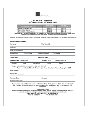 Booking form template free download edit fill print download accommodation booking form template acpscomau pronofoot35fo Choice Image