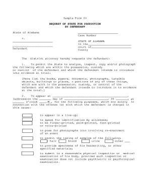 Sample Form 24. - judicial alabama