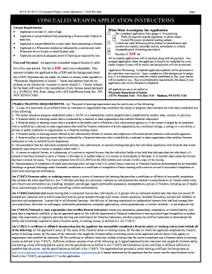 on oklahoma concealed carry application form to print out