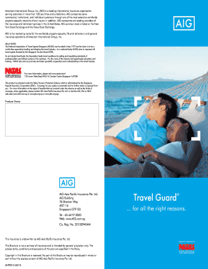 Travel Guard Brochure - Home - Insurance from AIG in Singapore