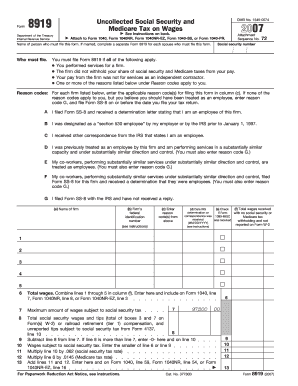 Alabama State Tax Form 8919 - Fill Online, Printable, Fillable ...