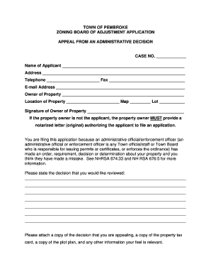 application letter for administrative officer pdf - Fill Out Online ...