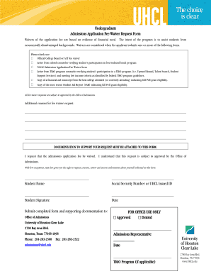 Nacac Fee Waiver Application Fillable Form - Fill Online ...