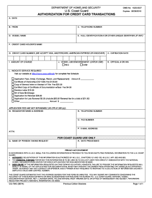 2014-2017 Form USCG CG-1258 Fill Online, Printable, Fillable ...