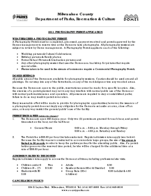 photography cancellation policy template