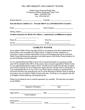 19 Printable Contractor Liability Waiver Form Templates