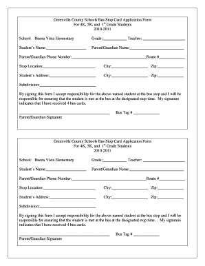 business blue card application form