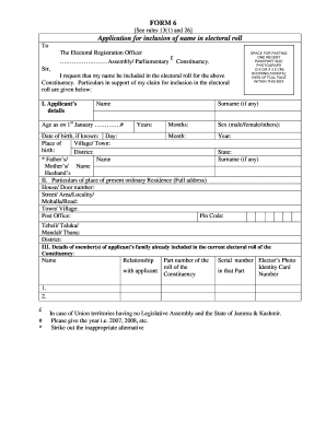Sample Of Election Form Fill Online Printable Fillable Blank