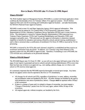 Va Form 22 1998 - Fill Online, Printable, Fillable, Blank   PDFfiller