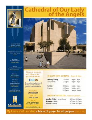 Gift Box Sponsor - the Cathedral of Our Lady of the Angels