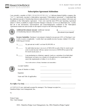 Editable Ppm Vs Subscription Agreement Fill Out Print