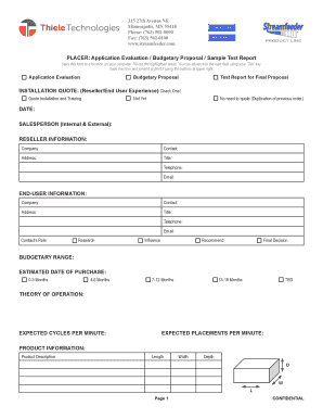 sales proposal email sample - Edit, Print, Fill Out & Download ...