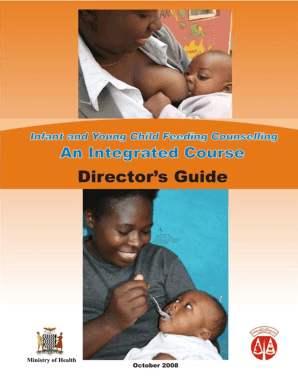 Trainer's Guide - USAID's Infant & Young Child Nutrition Project - iycn