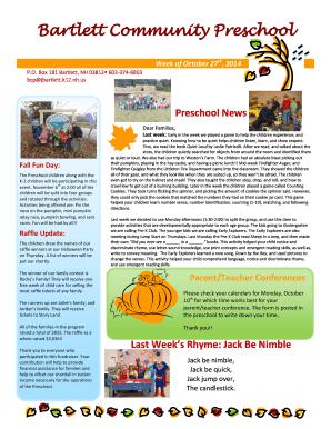 fall newsletter templates - Black.dgfitness.co