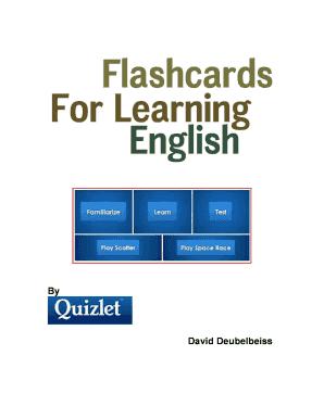 flashcard maker quizlet - Edit, Print, Fill Out & Download Online