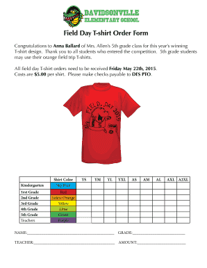 Fillable Online despto Field Day T-shirt Order Form - Davidsonville on t shirt quote form, book order form, shirt apparel order form, polo shirt order form, poster order form, belt order form, logo order form, clothing order form, jacket order form, toy order form, work shirt order form, shirt size form, sweater order form, camera order form, design order form, green order form, uniform shirt order form, hooded sweatshirt order form, employee uniform request form, gift order form,