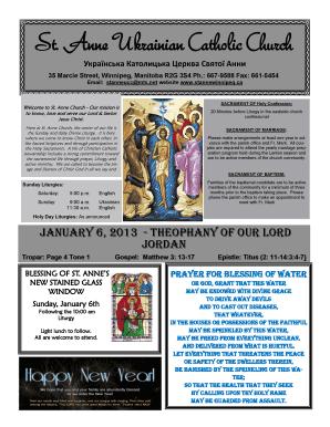 Fillable Online stannewinnipeg A New Year Prayer - St. Anne ...