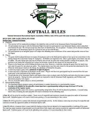 T ball lineup template printable form templates to submit national intramural recreational sports association nirsa rules will be used with some in pronofoot35fo Images