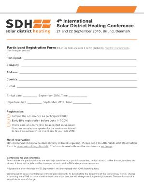 Conference Speaker Evaluation Form