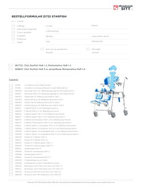 BESTELLFORMULAR ZITZI STARFISH - anatomicsittcom Fill Online ...