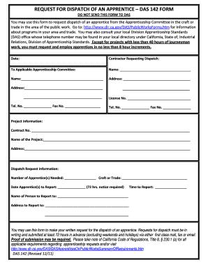 Printable da form 2407-e maintenance request - Edit, Fill Out ...