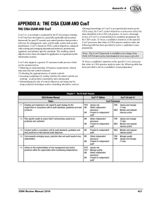 Editable forms ds 10 and ds 11 fill print download forms in appendix a the cisa exam and cobit fandeluxe Images
