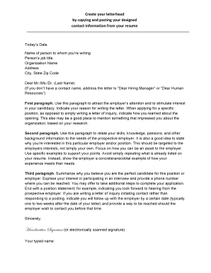 cover letter sampledocx - Email Cover Letter Example