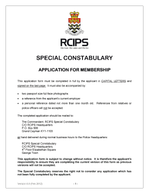 316340685 - Cayman Island Police Clearance Online Application Form