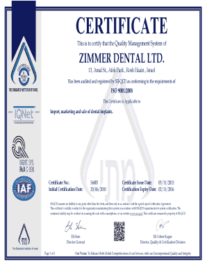 CERTIFICATE This is to certify that the Quality Management System of ZIMMER DENTAL LTD - zimmerbiomet co