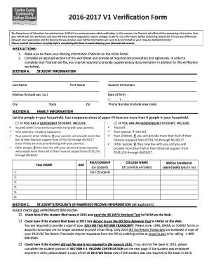Fillable Online losmedanos V1 Verification Form - Los Medanos ...