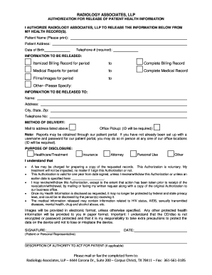 generic medical records request form generic medical records request form - Parlo.buenacocina.co