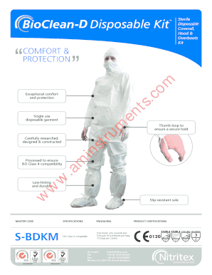 Hood Overboots PROTECTION - aminstrumentscom