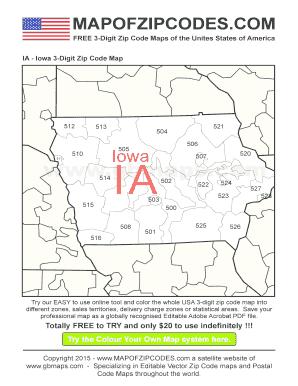 Fillable Online Ia-iowa-zip-code-map A bespoke usa zip code ... on iowa map by county, davenport iowa map, iowa roadway map, wisconsin central map, iowa map of america, iowa driving map, iowa travel map, iowa map usa, i-80 map, western railway of alabama map, ne iowa map, iowa metro map, iowa road map, iowa maps with major cities, iowa utility map, google maps iowa street map, illinois railway museum map, east broad top map, saint charles county zip code map, iowa map with mile markers,