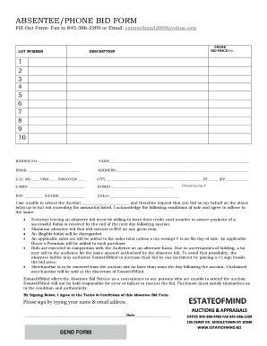 email sign up form template
